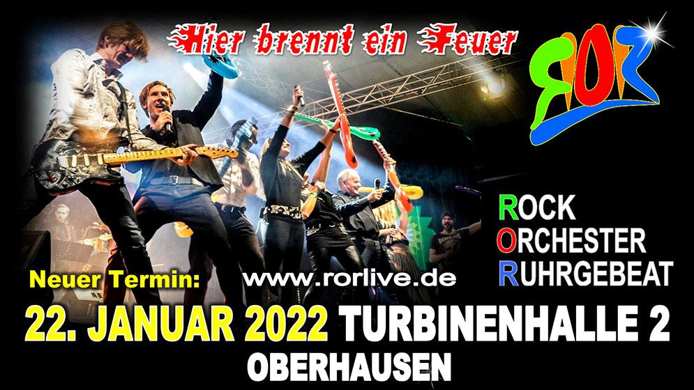 Banner Rock Orchester Ruhrgebeat - Turbinenhalle Oberhausen
